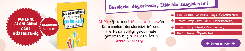 Din Öğretiminde Ders İçi Etkinliker